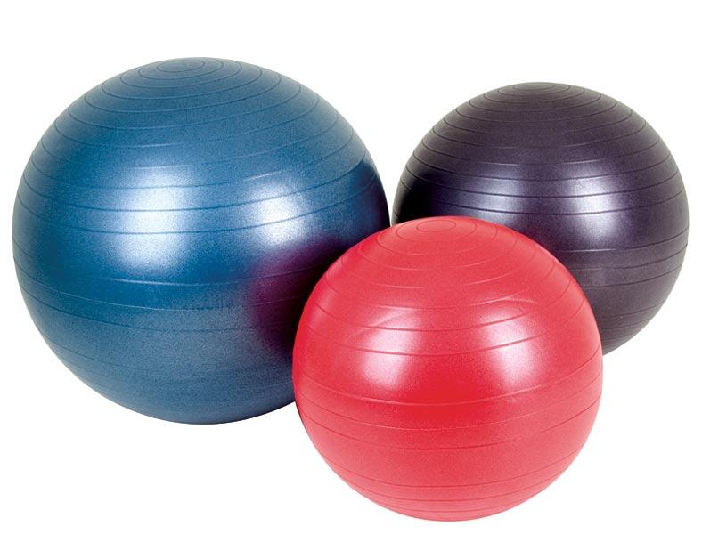 Болка в кръста- екстензия с фитнес топка.